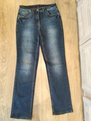 Dunkelblaue Cecil Toronto Jeans