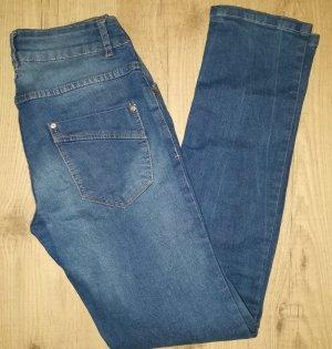 dunkelblaue Cecilia Classics my true blue Skinny Stretch Jeans in Gr. 36