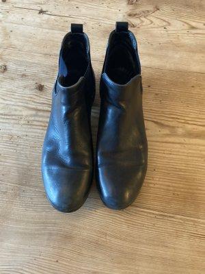 Dunkelblaue Chelsea Boots Kämpgen