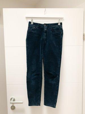 Closed Corduroy Trousers dark blue