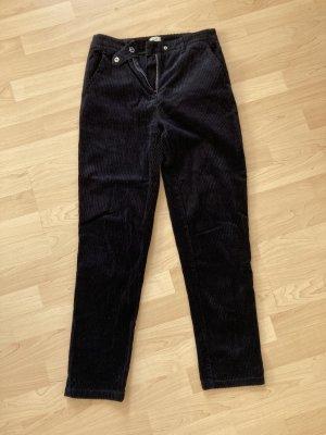 Pimkie Corduroy Trousers dark blue