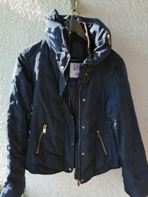 AJC Down Jacket gold-colored-blue