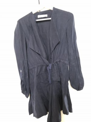 Zara Blouse Jacket dark blue