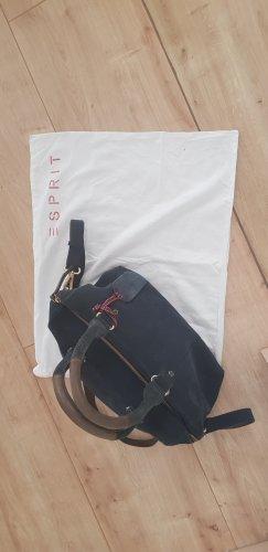 dunkelblaue Handtasche von Esprit