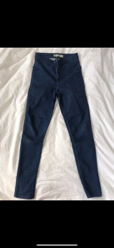 Topshop Stretch Jeans dark blue