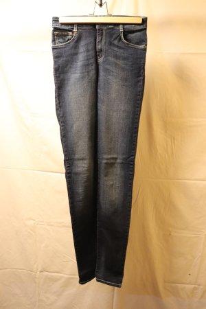 dunkelblaue high waist, skinny Jeans Calvin Klein