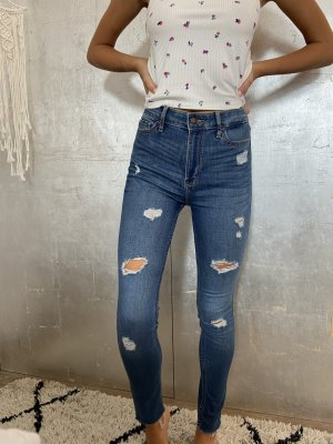 Hollister High Waist Trousers multicolored