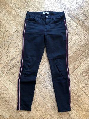 Zara Basic Stretch Trousers multicolored