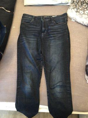 Abercrombie & Fitch Pantalone a sigaretta blu scuro