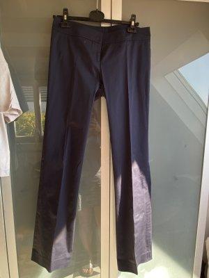 Patrizia Pepe Spodnie materiałowe ciemnoniebieski-niebieski