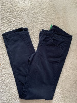 United Colors of Benetton Five-Pocket Trousers dark blue-blue