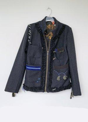 dunkelblaue Jacke von desigual, Größe 44