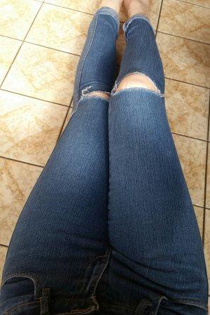 Dunkelblaue Jeans 36/S