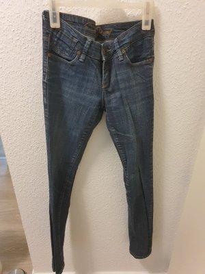 CROSS JEANS Jeans a sigaretta blu scuro Cotone
