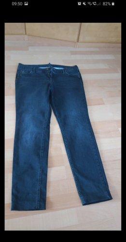 Atelier Gardeur Pantalon pattes d'éléphant bleu foncé