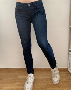 Dunkelblaue Jeans   Amisu