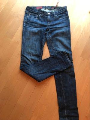 Adriano Goldschmied Low Rise Jeans dark blue