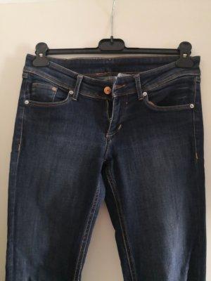 H&M Stretch Jeans dark blue