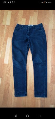 Only Drainpipe Trousers dark blue