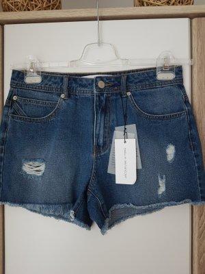 Dunkelblaue Jeans Hotpant von JDY