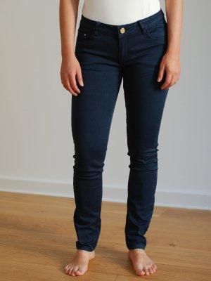 Tube jeans donkerblauw