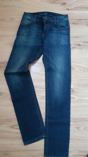 s.Oliver Jeansy z prostymi nogawkami ciemnoniebieski