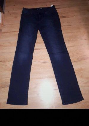 Takko Pantalone da cavallo blu scuro
