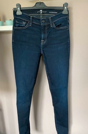 "Dunkelblaue Jeans von 7 for all mankind, Gr. 25 ""Roxanne"""