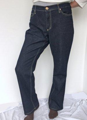 Bogner Spodnie z pięcioma kieszeniami ciemnoniebieski Bawełna
