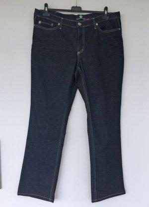 Bogner Pantalón de cinco bolsillos azul oscuro Algodón