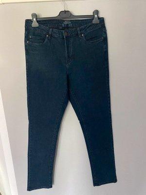 Dunkelblaue Jeans von Esmara Modern Slim Fit, Gr. 44