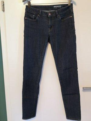 dunkelblaue Jeans von Esprit, 27/32, skinfit