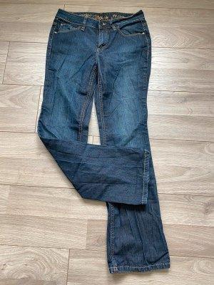 Dunkelblaue Jeans von Esprit, Gr. 28/30