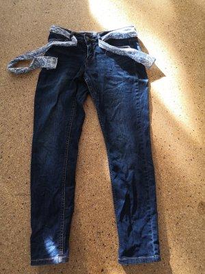Dunkelblaue Jeans von John Baner in Größe 38 (Kurzgröße)