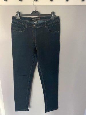 Dunkelblaue Jeans von UpFashion, Gr. 42 (32/32)