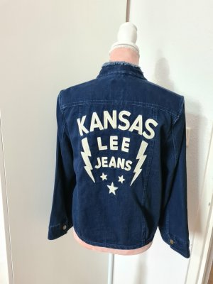 Lee Veste en jean multicolore