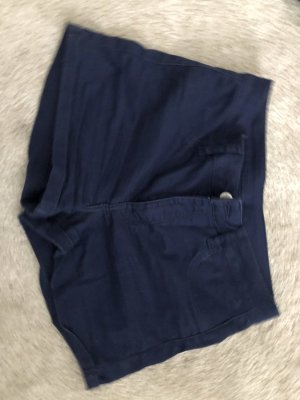 H&M Short en jean bleu foncé-bleu