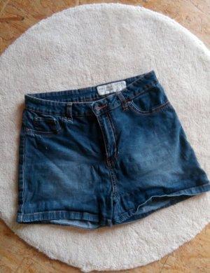 Esmara Denim Shorts dark blue-blue cotton