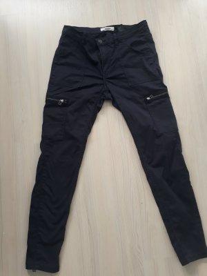 H&M L.O.G.G. Jeans de moto bleu foncé