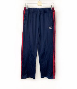 Adidas pantalonera azul oscuro-rojo oscuro