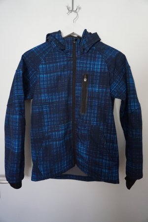 H&M Giacca softshell blu scuro-blu Poliestere