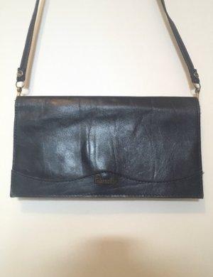 Dunkelblaue kleine Handtasche