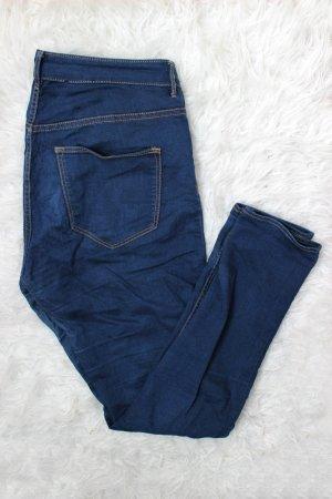 H&M Jeans skinny bleu-bleu foncé