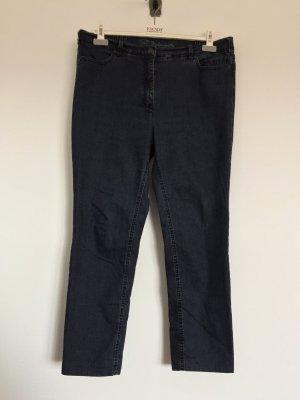 Dunkelblaue lange Hose, Jeans von Toni Belmonte Slim Fit, Gr. 44 (NEUw.)