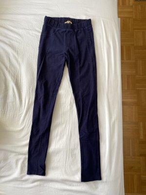 Zara Trafaluc Jeggings dark blue-blue mixture fibre