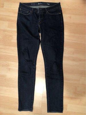 Dunkelblaue Levi's Jeans Skinny