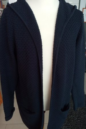 Cecil Long Knitted Vest dark blue