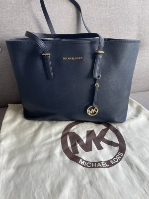 Dunkelblaue Michael Kors Tasche