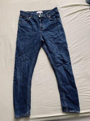MNG Jeans Vaquero rectos azul oscuro