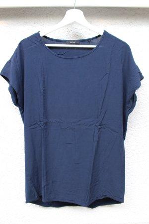 dunkelblaue Opus Bluse, schlichter Stil
